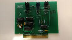 Avery Weigh Tronix WI-150 fiber optic I/O PCB