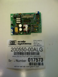 GSE 650 Series Analog Output Option